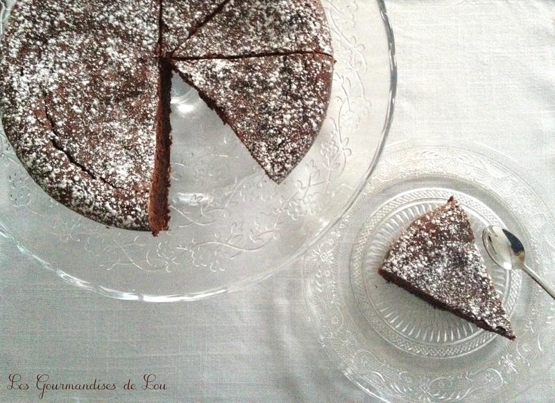 gâteau au chocolat corsé