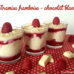Tiramisu framboise - chocolat blanc