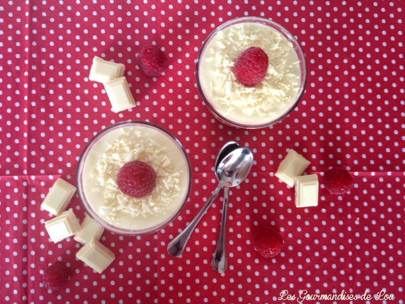 Tiramisu framboises chocolat blanc