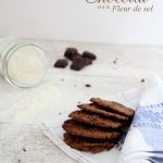 Sablés au chocolat et à la fleur de sel