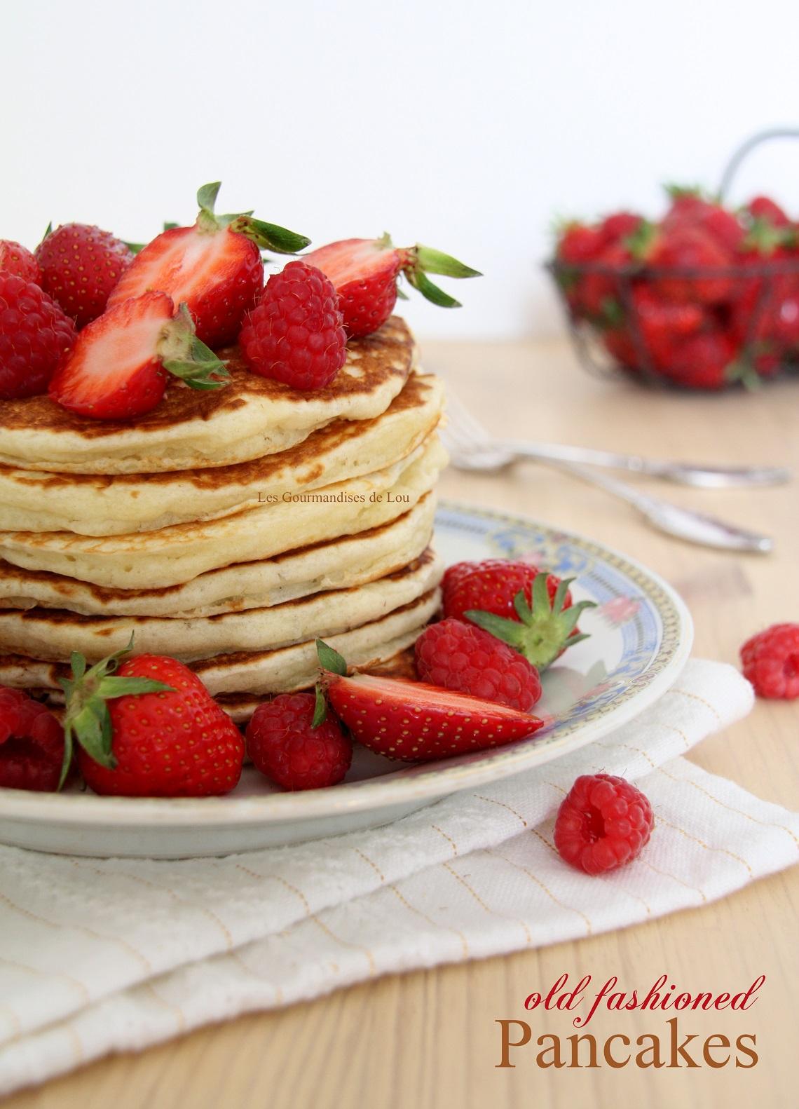 Old fashioned Pancakes (Recette de Martha Stewart)