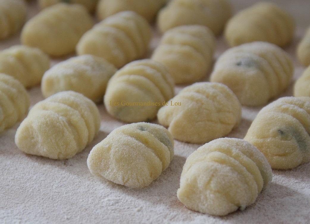 Gnocchis au basilic