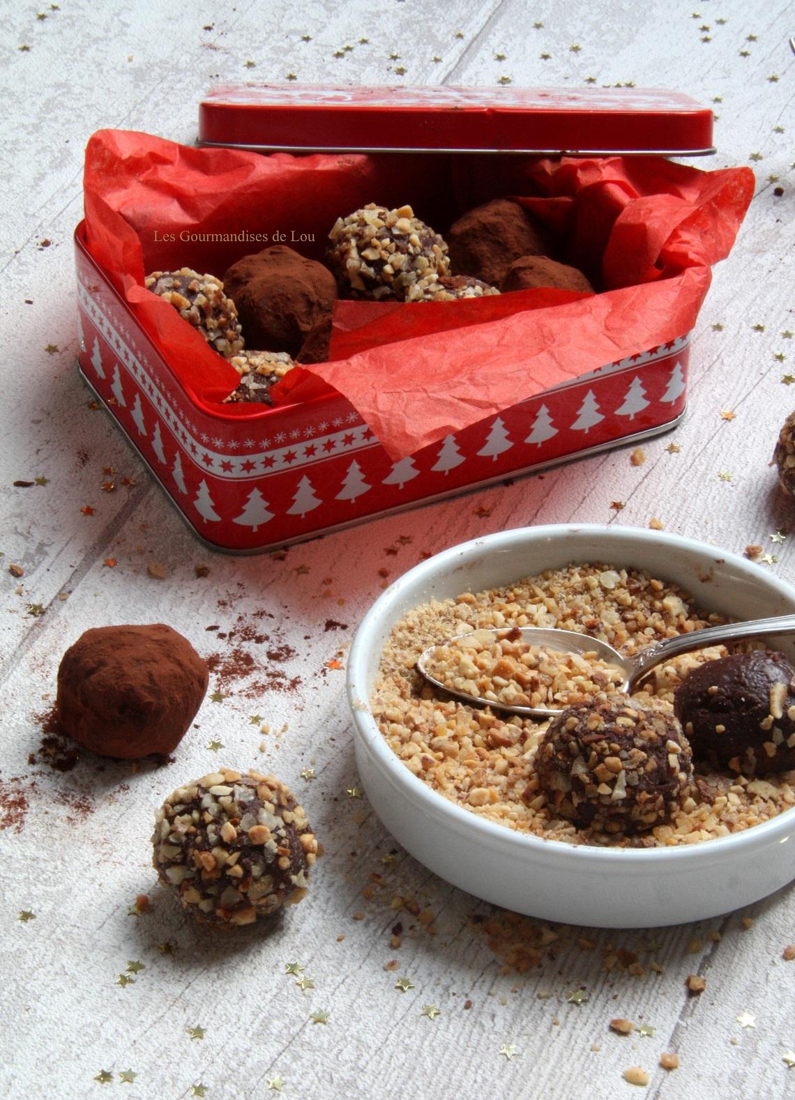 Truffes chocolat - pralin