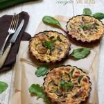 Tartelettes courgette – noix de Saint Jacques