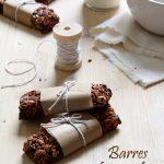 Barres de céréales chocolat - noisettes - amandes