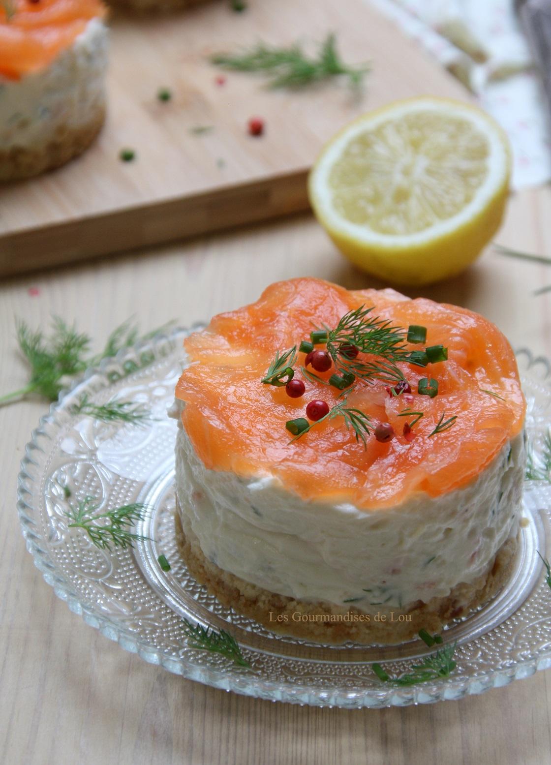 Cake Saumon En Entree