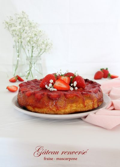 gateau-renverse-fraise-mascarpone