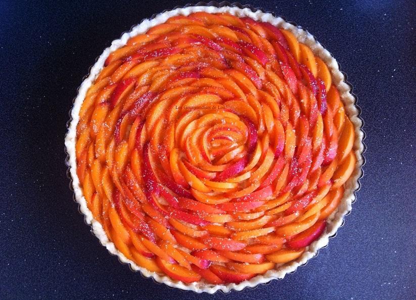 preparation-tarte-aux-abricots-et-creme-d-amande