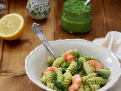 salade-de-pates-asperges-feves-et-crevettes