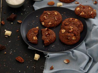 cookies-aux-deux-chocolats-amandes-noix-de-pecan