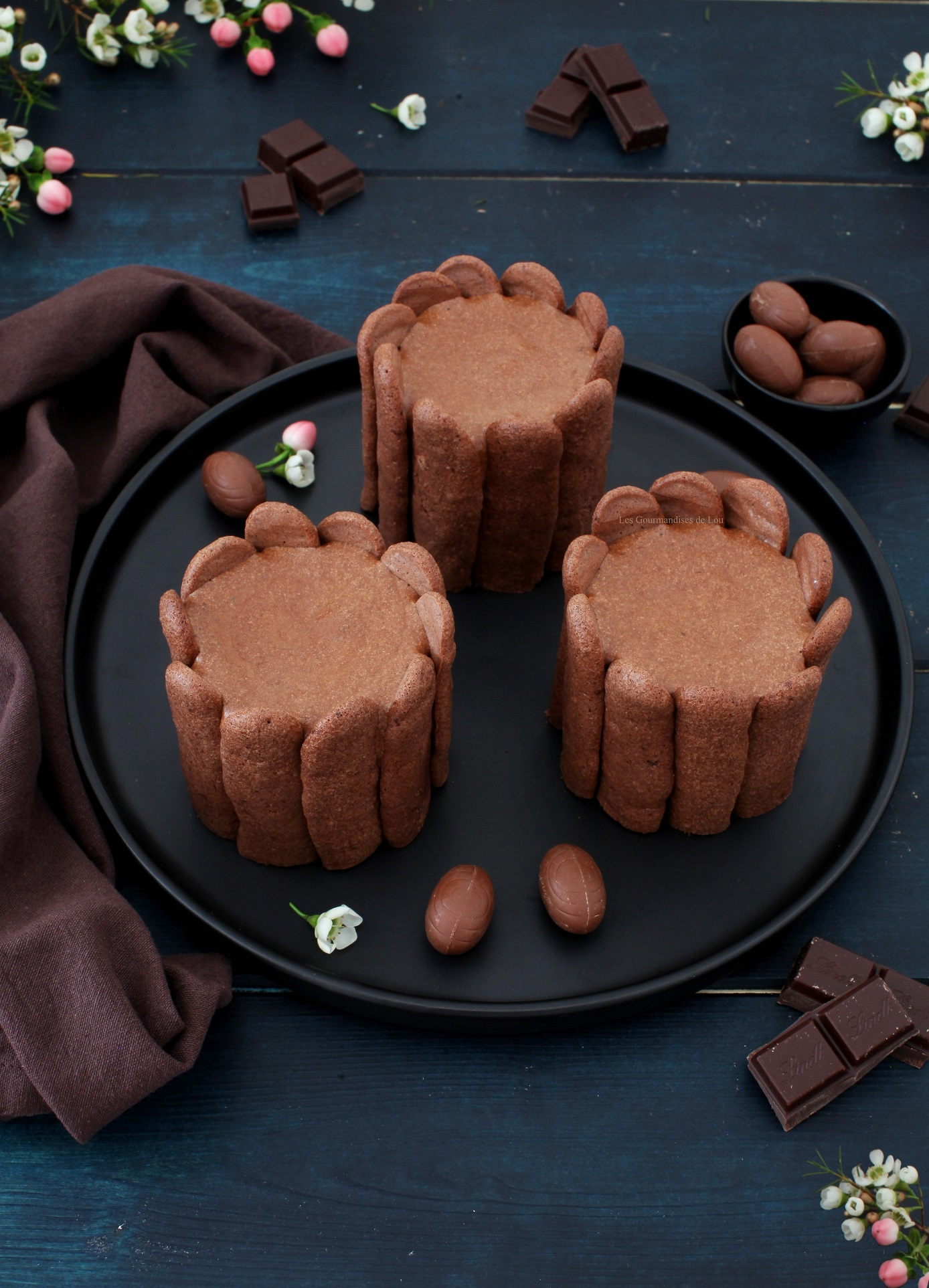 charlottes chocolat noix de coco