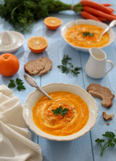 veloute de carottes a l orange
