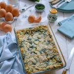 Clafoutis saumon – courgette