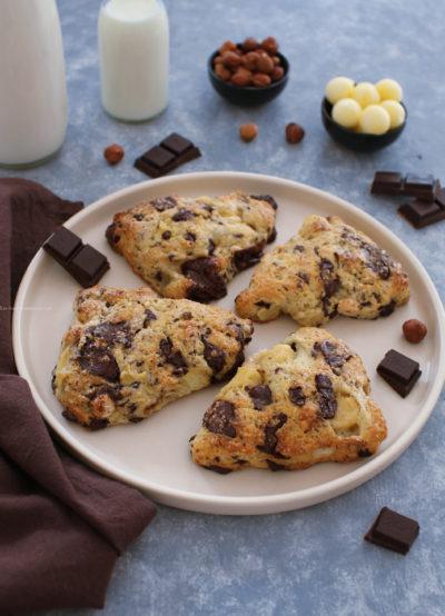 scones chocolat noisette pomme