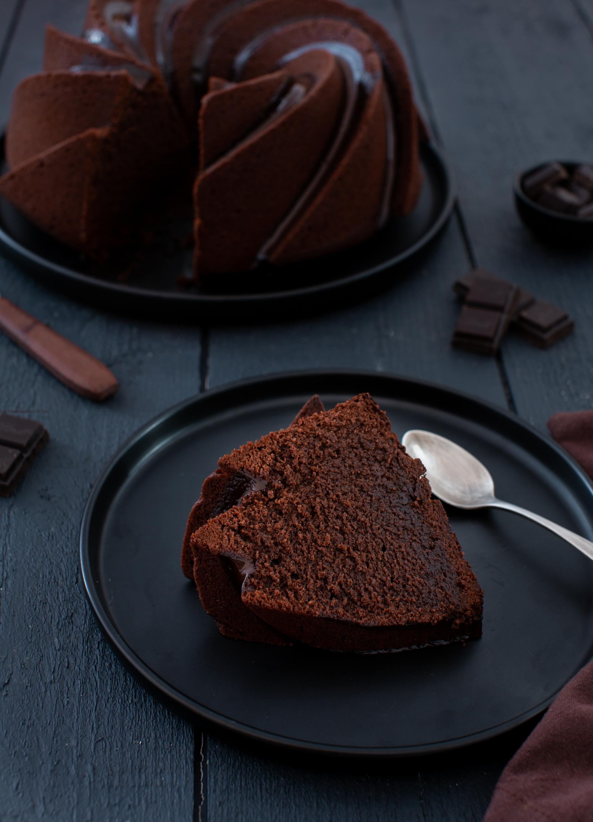bundt cake au chocolat
