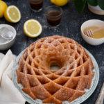 Bundt cake citron, miel, mascarpone