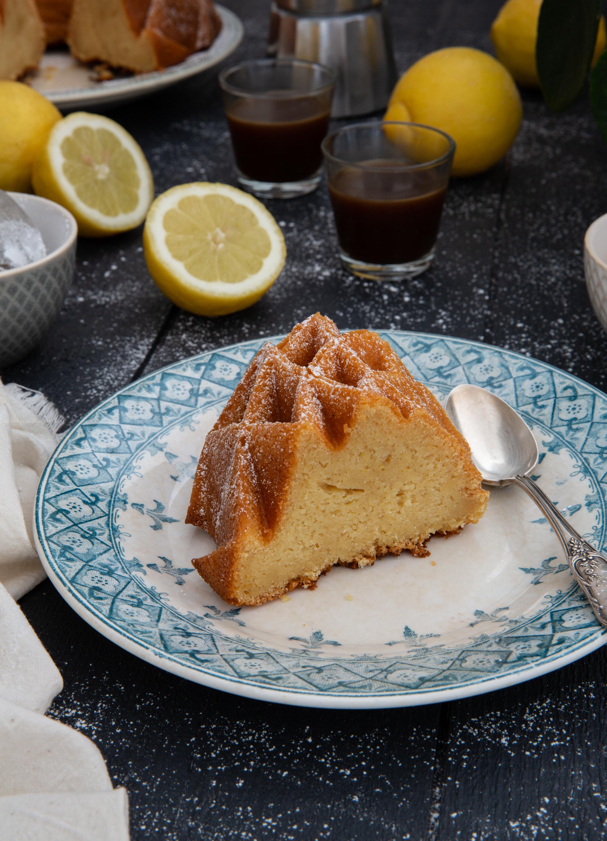 bundt cake citron miel mascarpone