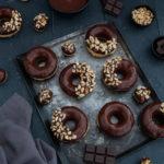 donuts au four chocolat noisette