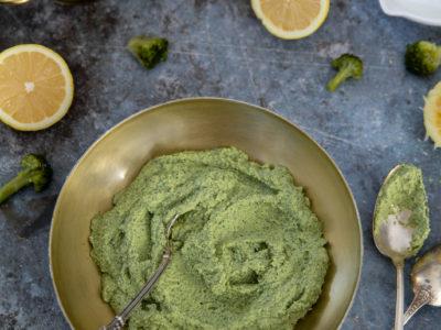 pesto de brocolis