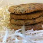 Cookies sablés chocolat noisettes
