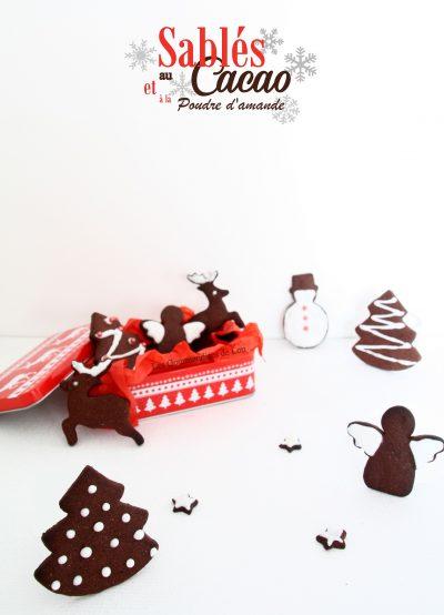 Sablés au cacao et à la poudre d'amande