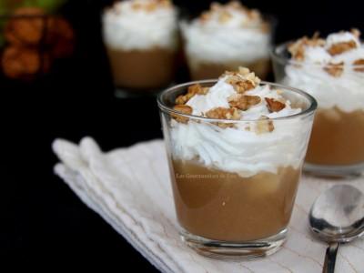Cappuccino de poires au Roquefort
