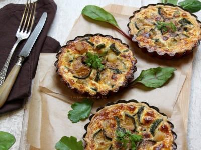 Tartelettes courgette noix de Saint Jacques