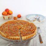 Tarte aux abricots et crème d'amande