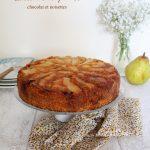 Gâteau aux poires – chocolat – noisettes