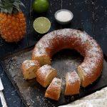 Gâteau à l'ananas et à la noix de coco