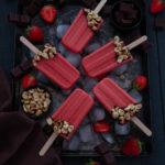 Esquimaux fraise, chocolat, noisette