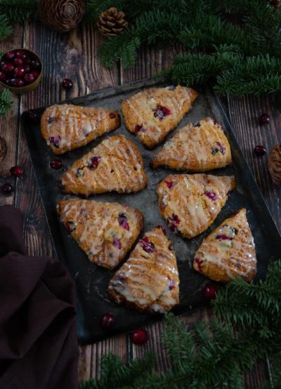scones cranberries chocolat blanc