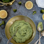 Pesto de brocolis au citron
